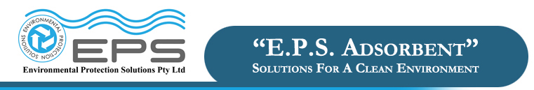 (envps) E.P.S. Adsorbent product are solutions for a clean environment.